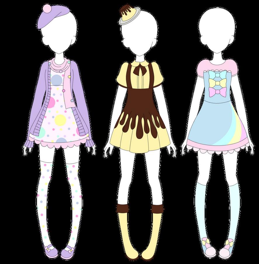 MRA: Fairy Kei Designs 2 by VanillaChama