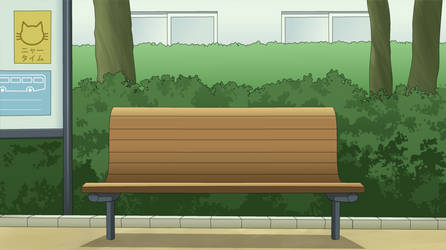 Bench Background by MappyMaples
