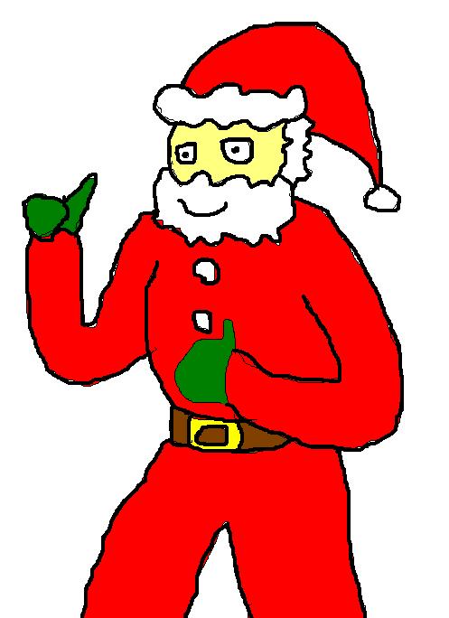 Late Christmas Santa by Hyper-Kenny-1991