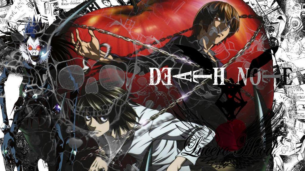 Death Note Wallpaper By Lucerohood On Deviantart