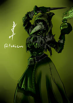 Plague Doctor - Darkest Dungeon by DancingSoldier