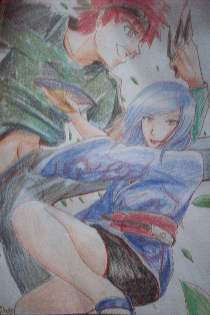 Minato and Uroko ninjas by nikky93