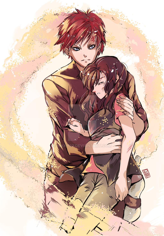 Gaara and Matsuri. ^.^ uploaded by ☆•Little ninja•☆ |Naruto Matsuri And Gaara