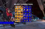 DC VS Namco character select: Nightwing