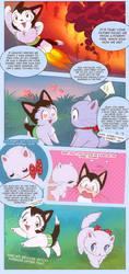 AstroCat comics p2 by littlepolka