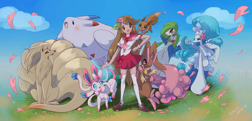 Flora and her team