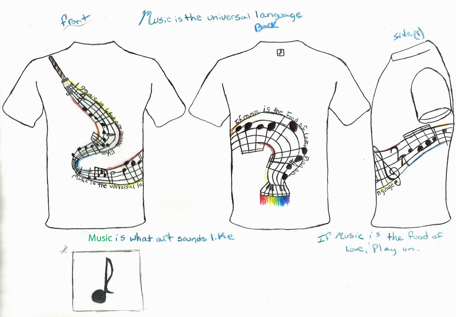 Music t shirt design by midnasfire500 on deviantart Music shirt design ideas