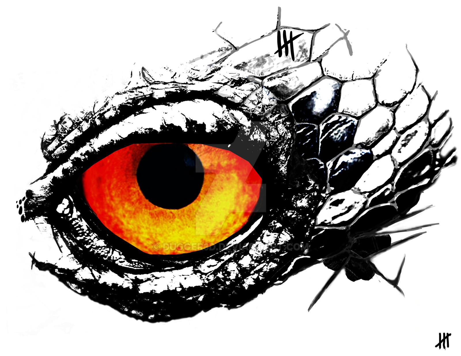 Monster Eye by Dugger3d on DeviantArt