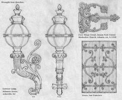 Wrought Iron Sketches