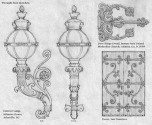 Wrought Iron Sketches