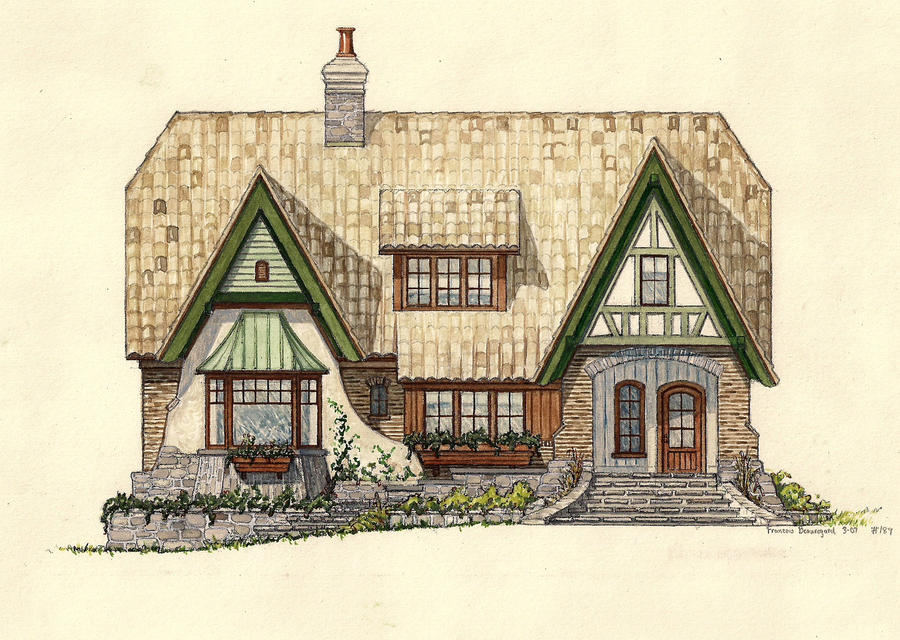 1000 images about craftsman tudor architecture on pinterest for Storybook style house plans