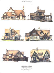 Six Color Elevations by Built4ever