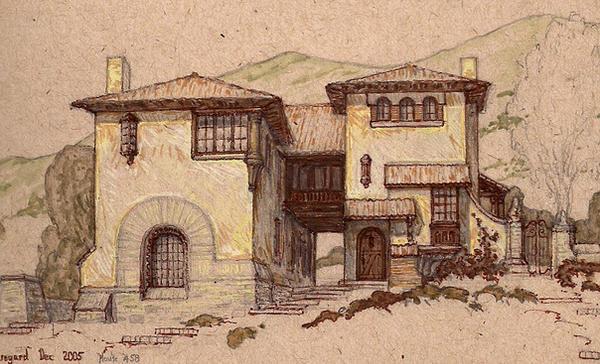 Mediterranean Hillside House by Built4ever