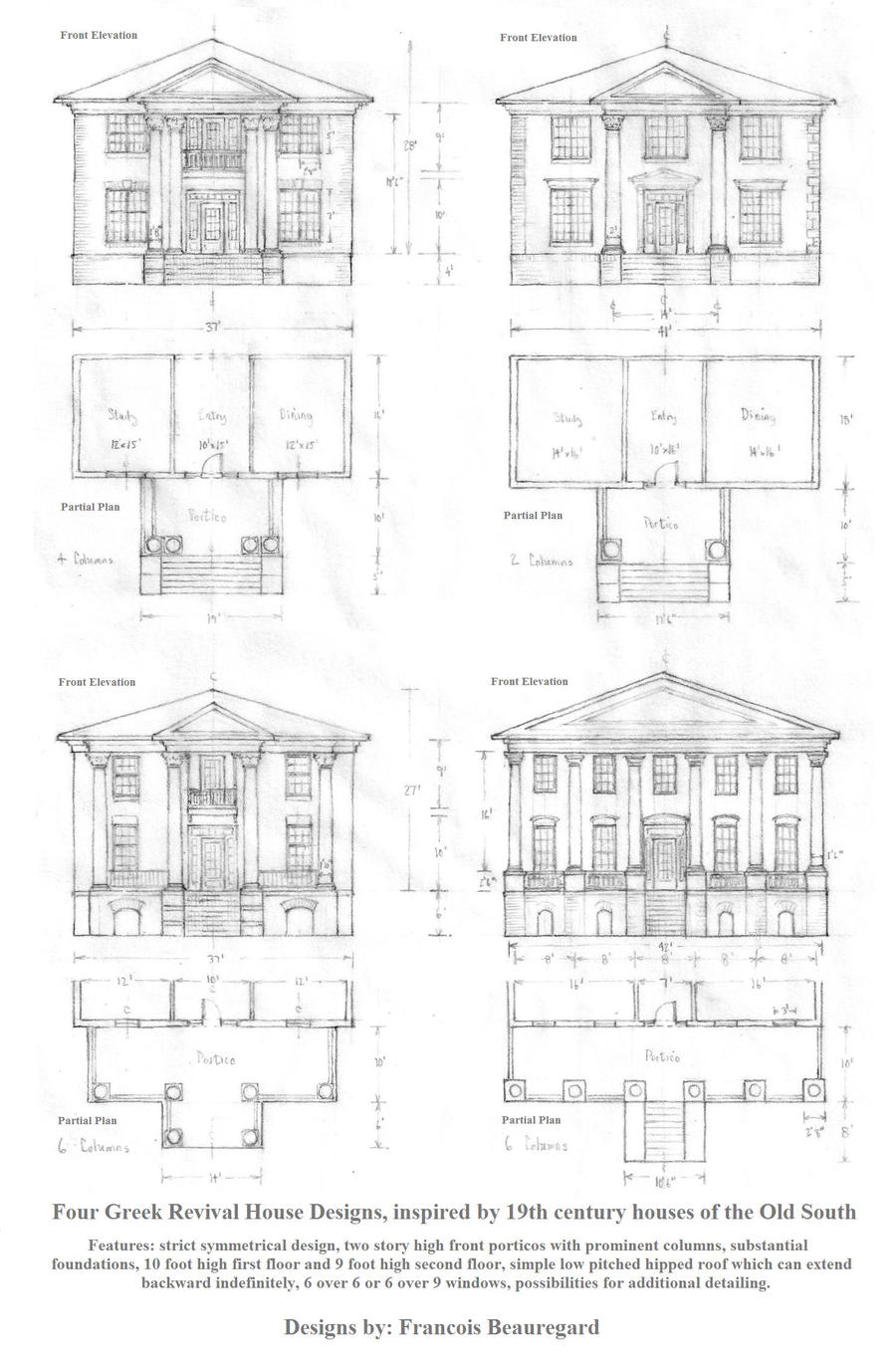 Four Greek Revival Houses by Built4ever on DeviantArt on jeffersonian house plans, italianate house plans, plantation house plans, ranch house plans, cape cod house plans, colonial house plans, split level house plans, victorian house plans, upstairs and downstairs bedroom house plans, european house plans, craftsman house plans, greek house drawings, adams style house plans, georgian home plans, french colonial home plans, southern house plans, traditional house plans, gothic revival home plans, contemporary house plans, neoclassical home plans,