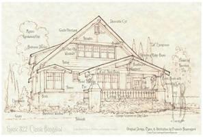 House 322 Craftsman Bungalow Details