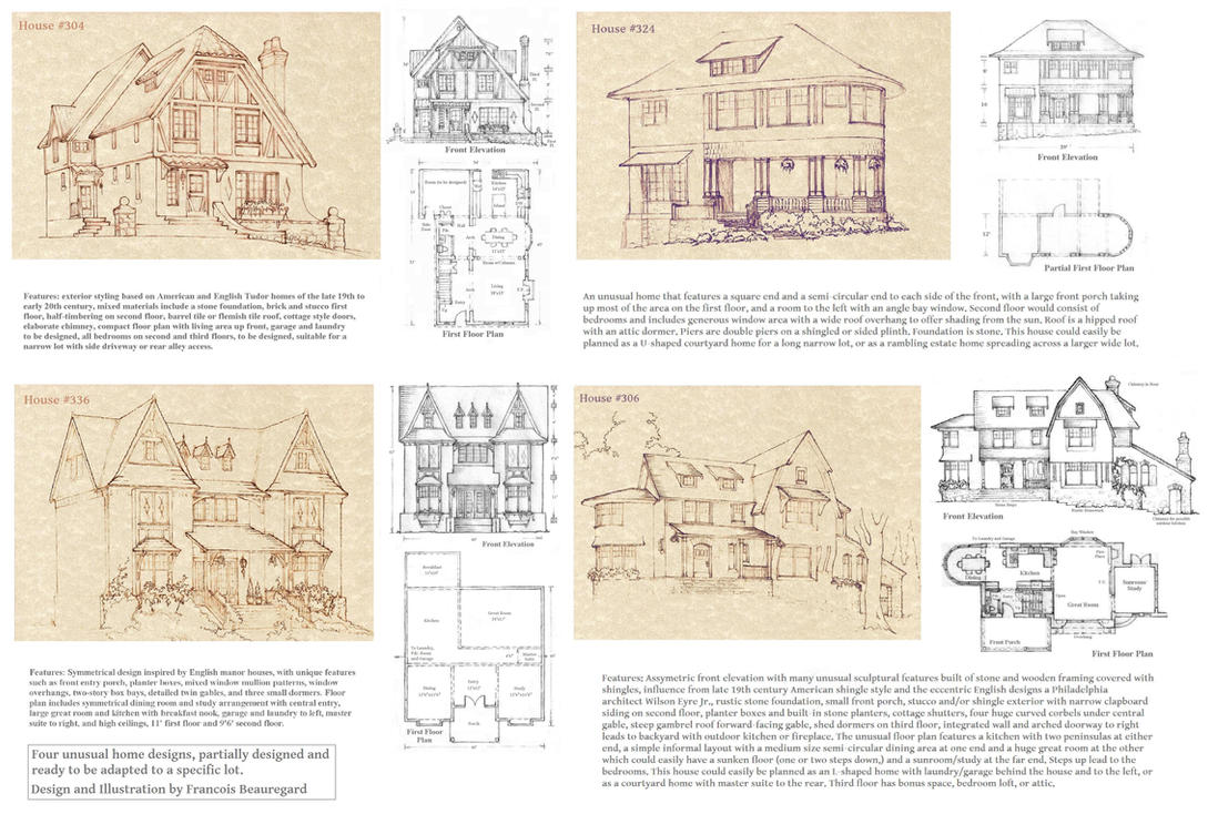 Four Unusual Homes by Built4ever on DeviantArt