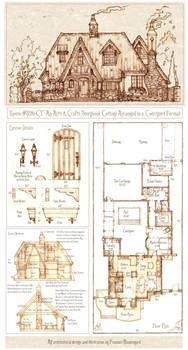 House 326 Storybook Cottage Plan Sheet