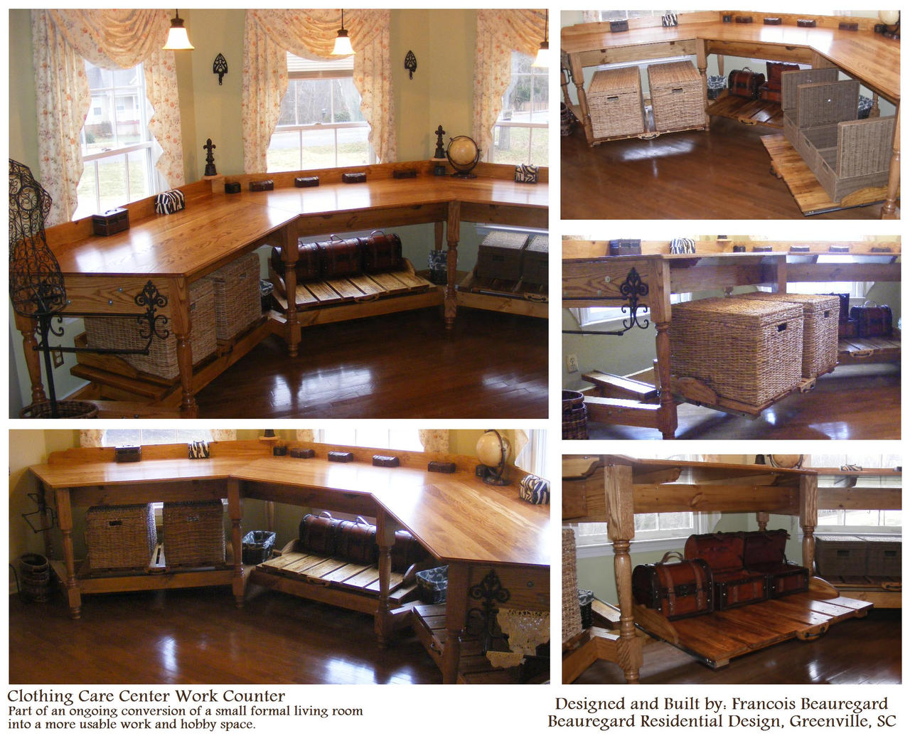 Finished Work Counter by Built4ever