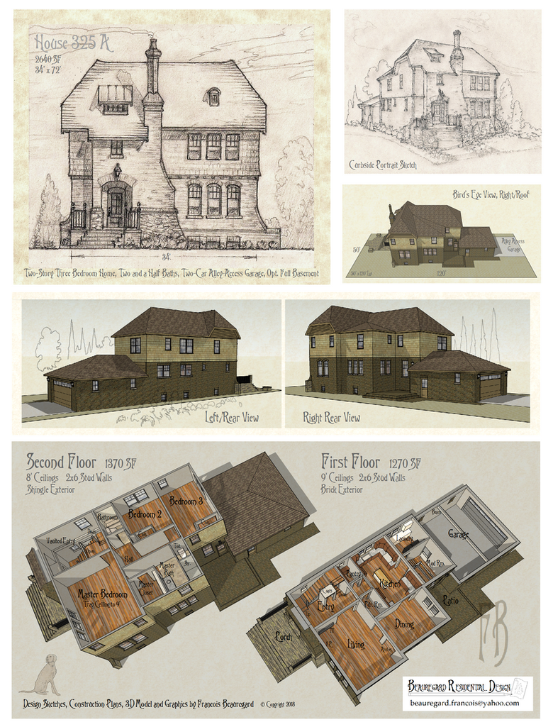 House 325A Plan by Built4ever