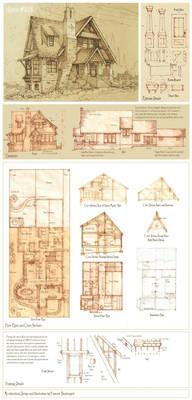 House 323 Original Concept Plans