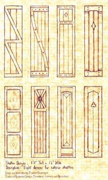 Eight Shutter Designs