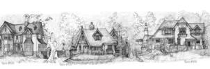 Five Storybook Cottages