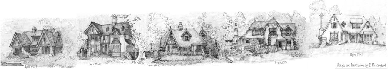 Five Storybook Cottages by Built4ever