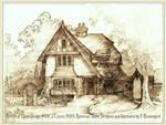 Portrait of House #331, A Classic Tudor