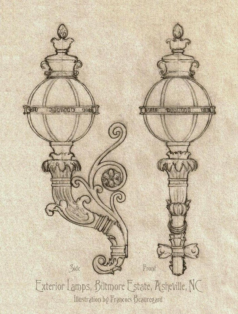 Biltmore House Lamps by Built4ever