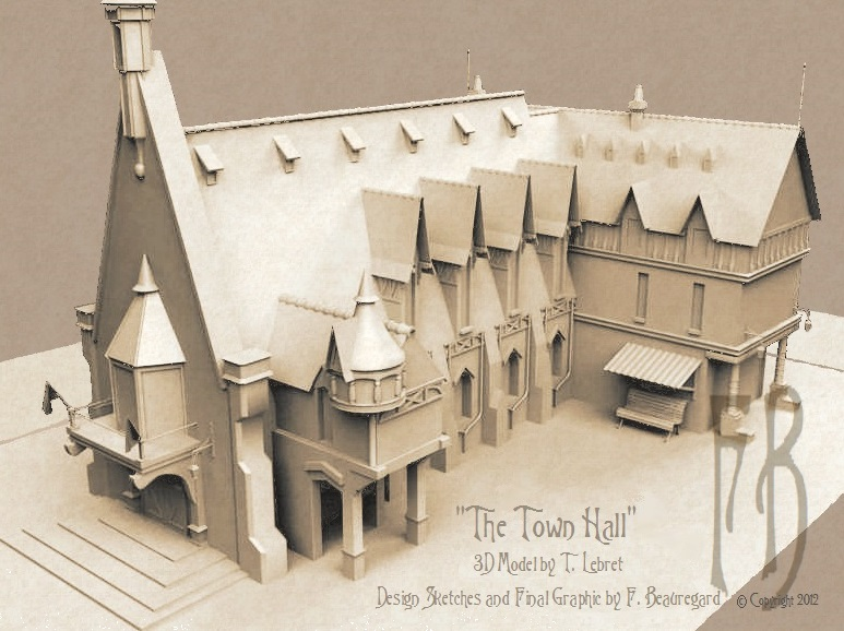 Town Hall in 3D