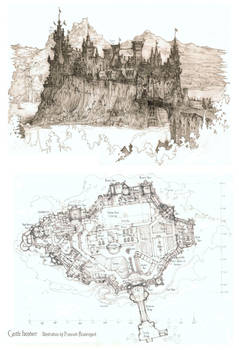 Castle Iventorr by Built4ever