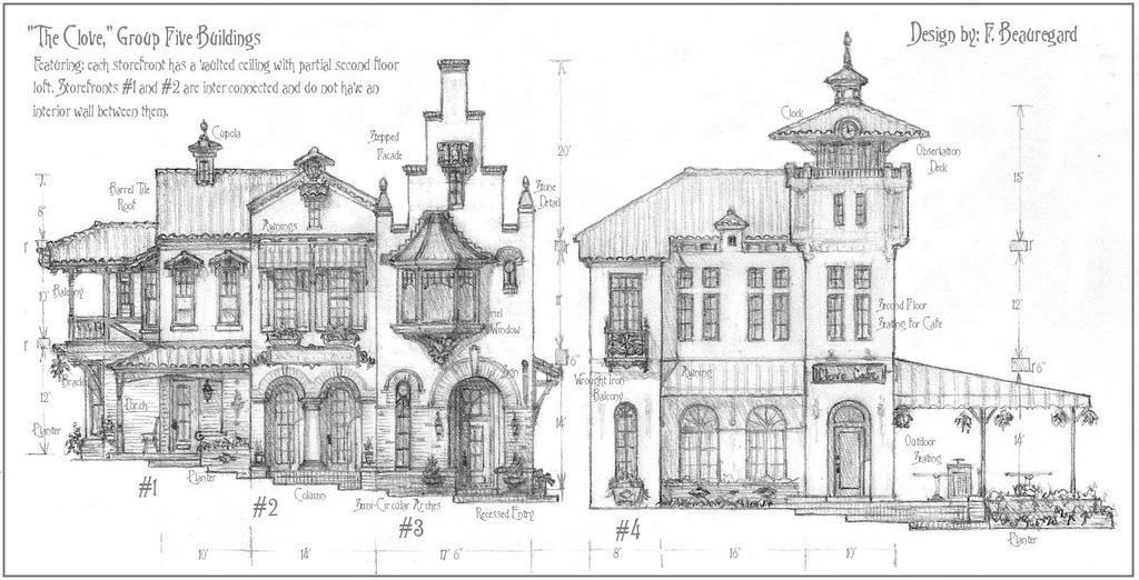 Group Five Buildings for The Clove Town Center by Built4ever
