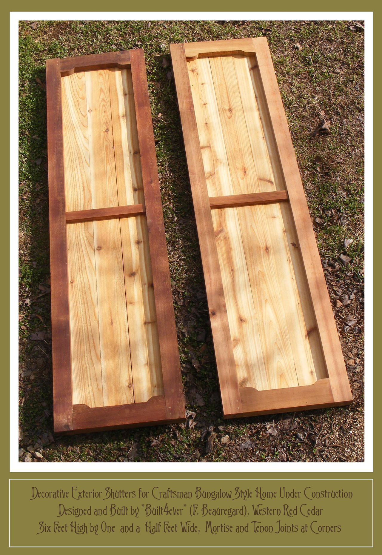 Building Exterior Shutters Exterior Shutters For Craftsman Bungalow By Built4ever On Deviantart