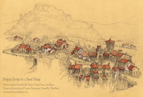 Castle/Village #11: The Village of Montevino by Built4ever