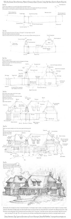 Perspective Drawing Tutorial: A Cottage Home