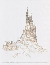 Castle #5 Cascadium Detail/Close-Up by Built4ever