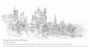 Castle Village #4, Enchanta, Detail Study by Built4ever