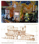 Gingerbread House made from a design of mine...