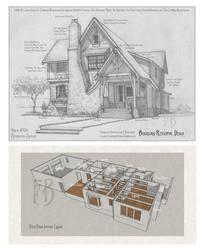 House 339 Portrait and Plans