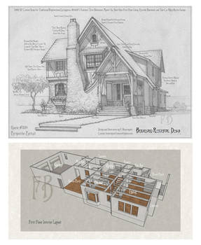 House 339 Portrait and Plans