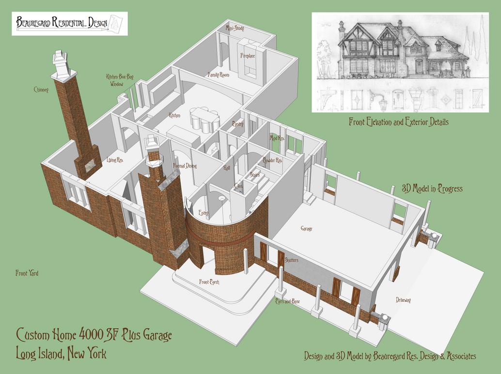 Custom Residence New York Area by Built4ever