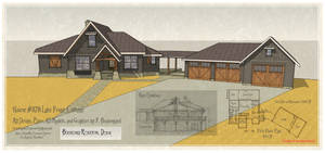 House 378 Rendering and Plan