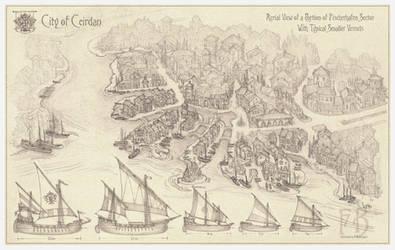 City of Ceirdan, Fischerhafen and Boats