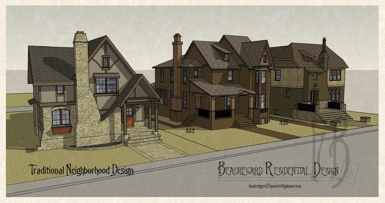 Traditional Neighborhood Design by Built4ever