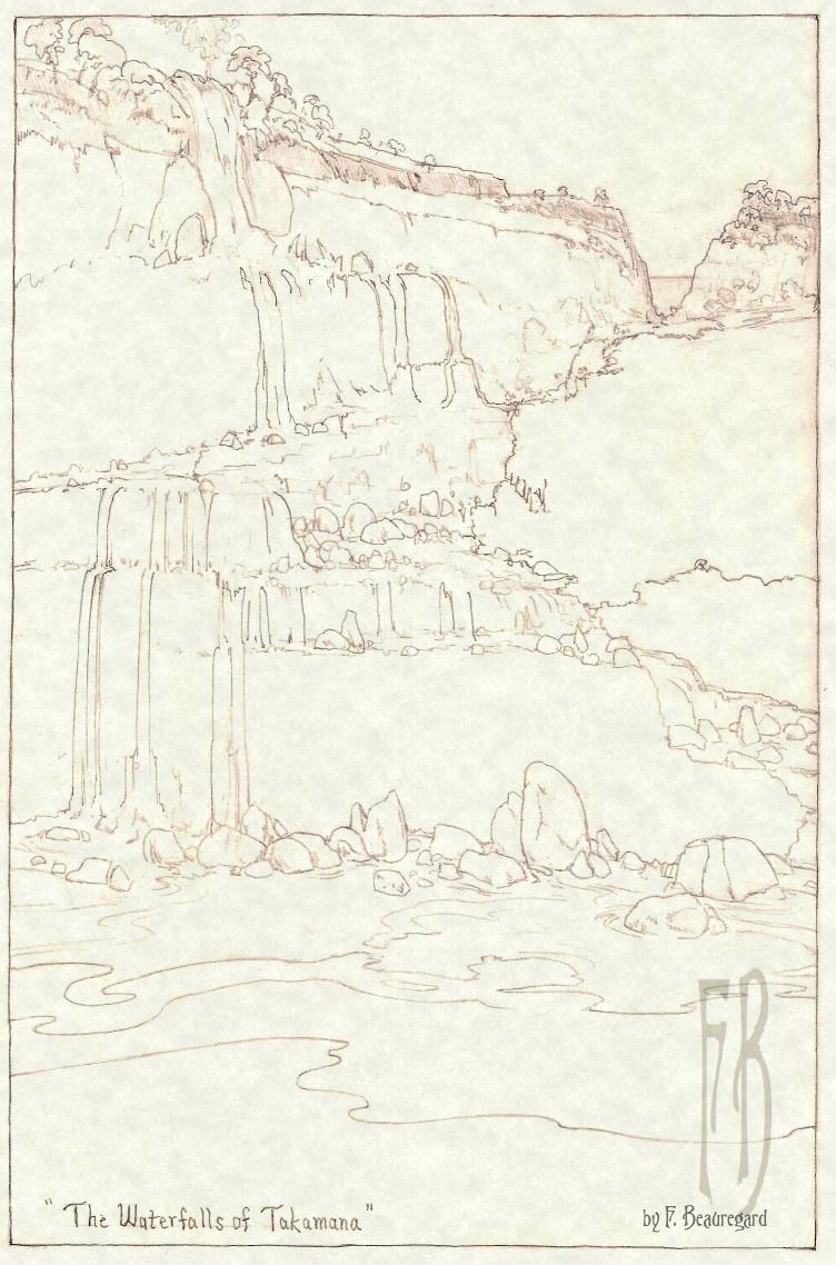 The Waterfalls of Takamana