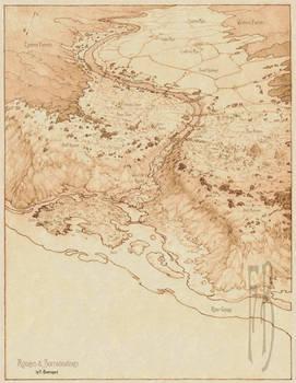 City of Ayugen, Map/Bird's Eye View