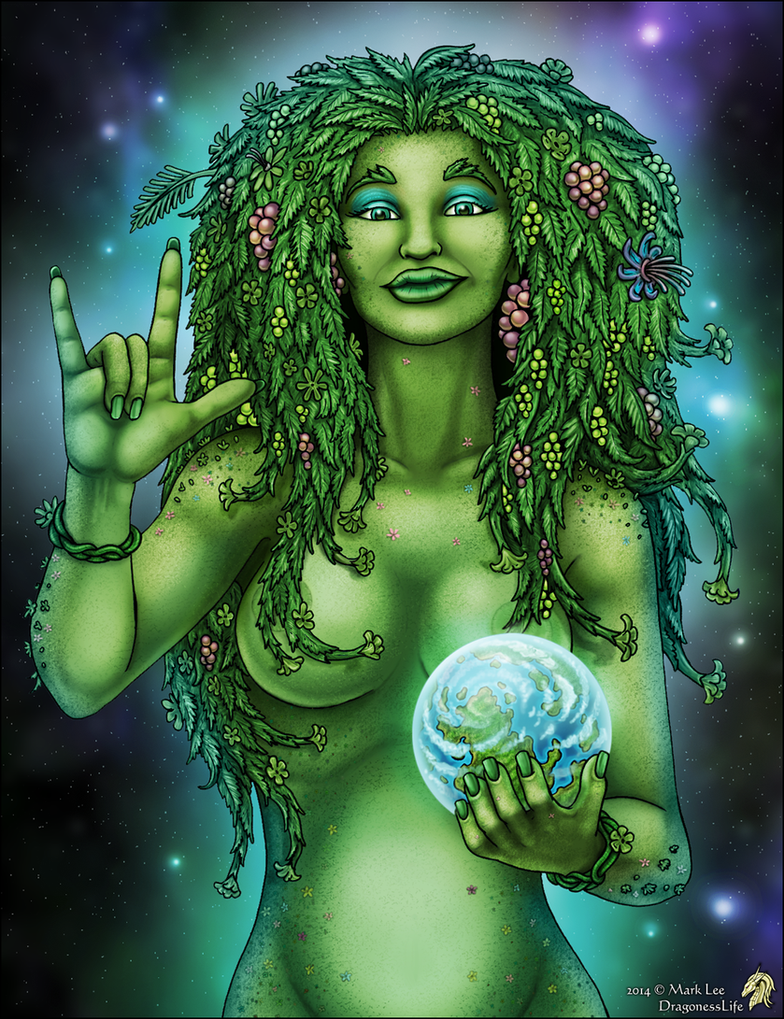 Gaia by DragonessLife