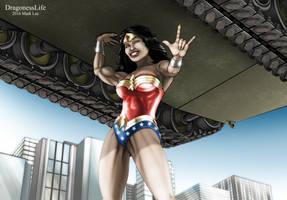 Wonder Woman by DragonessLife