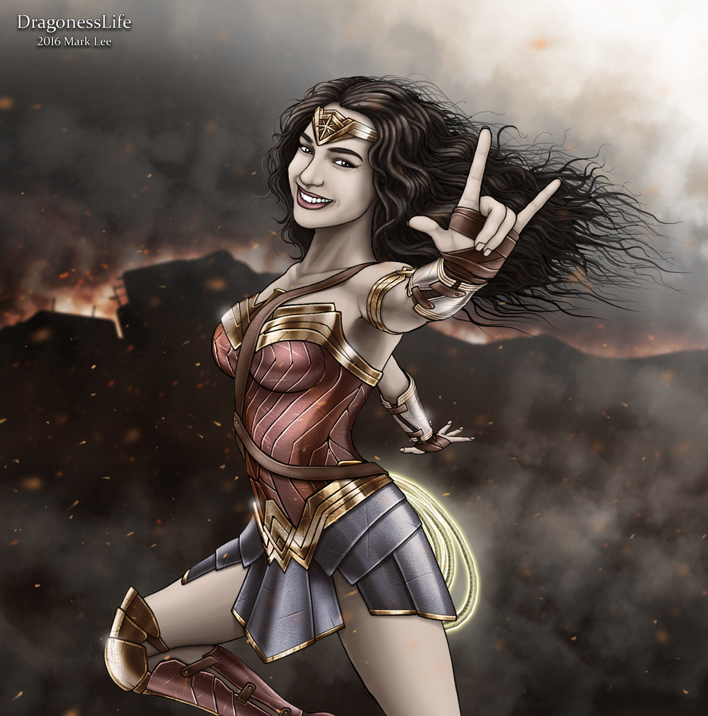 Wonder Woman  ( ASL ) by DragonessLife
