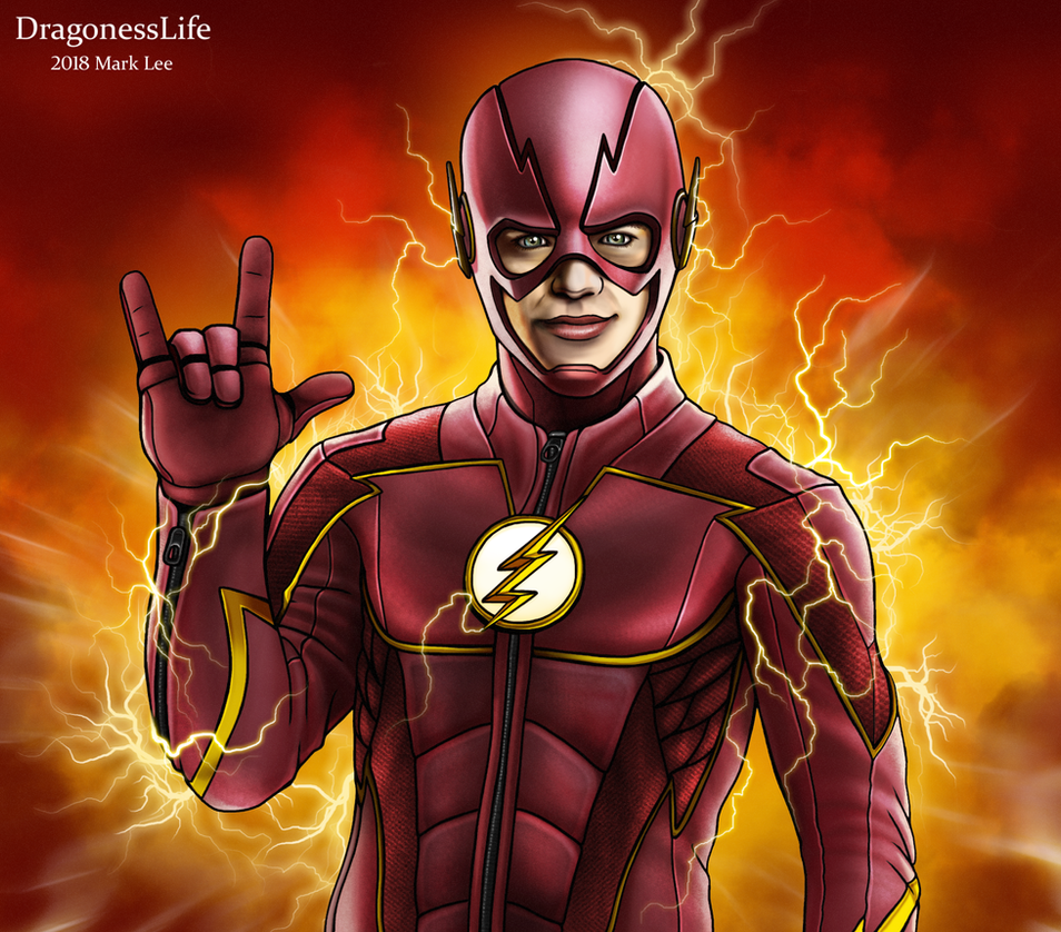 The Flash ASL by DragonessLife